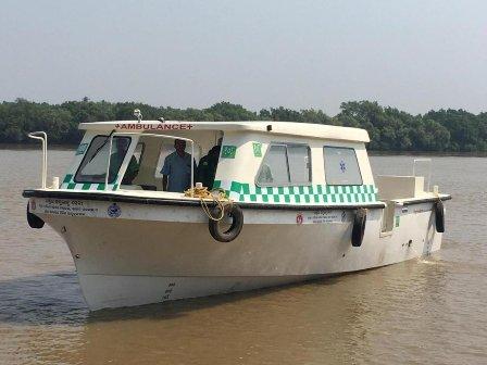 Boat-Ambulance
