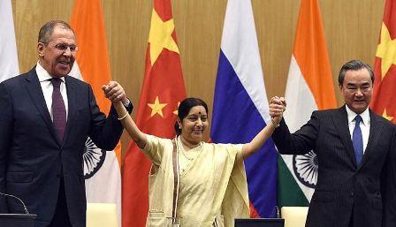 India-Russia-China