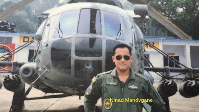 Squadron leader Ninad Mandvgane
