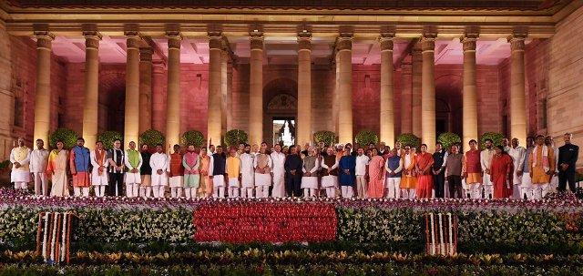Modi-2.0 Ministers Portfolios